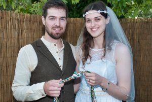 hand fasting couple