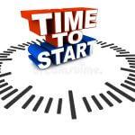 start on time